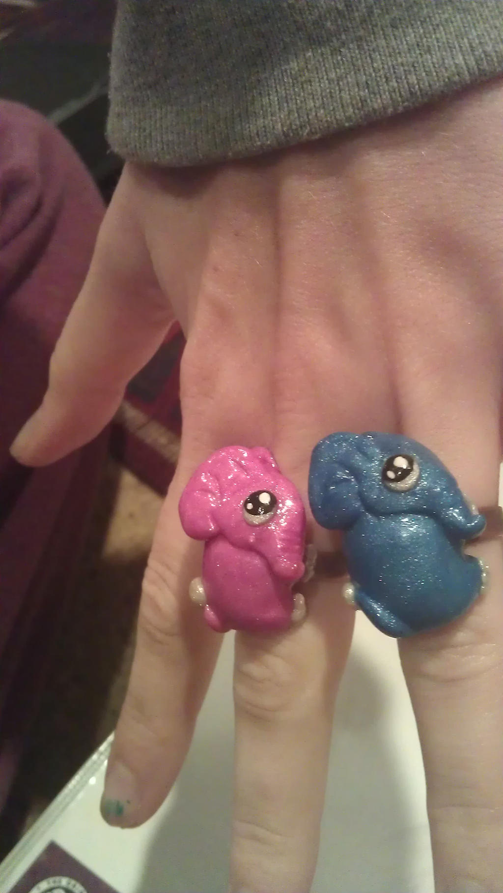 elephant rings by ColleensCritters