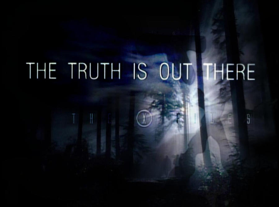 Whereas the  X Files The Truth Is Out There Wallpaper