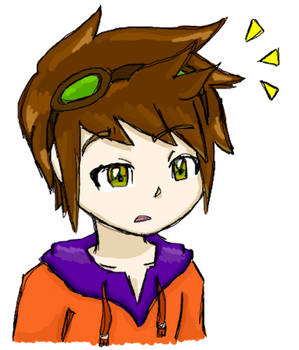 Huh? Colored by jordansweeto