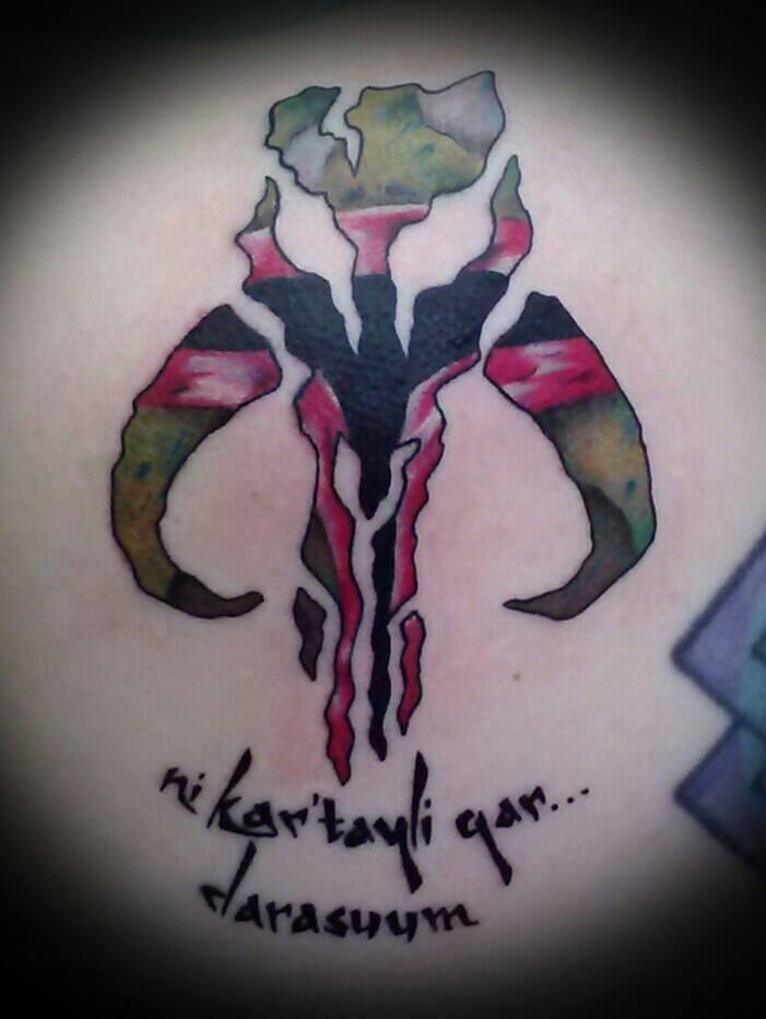 Mandalorian Tattoo: Mandalorian By Nikolaos-Mariana On DeviantArt