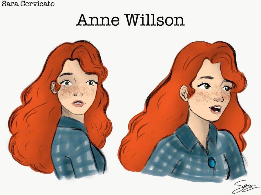 Anne Willson  by SaraCer03