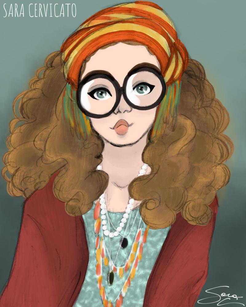 Sybill Trelawney  by SaraCer03