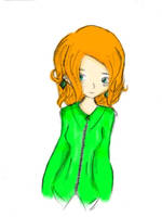 dressed in green by Aninsey