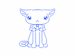 aw look a cat type thing