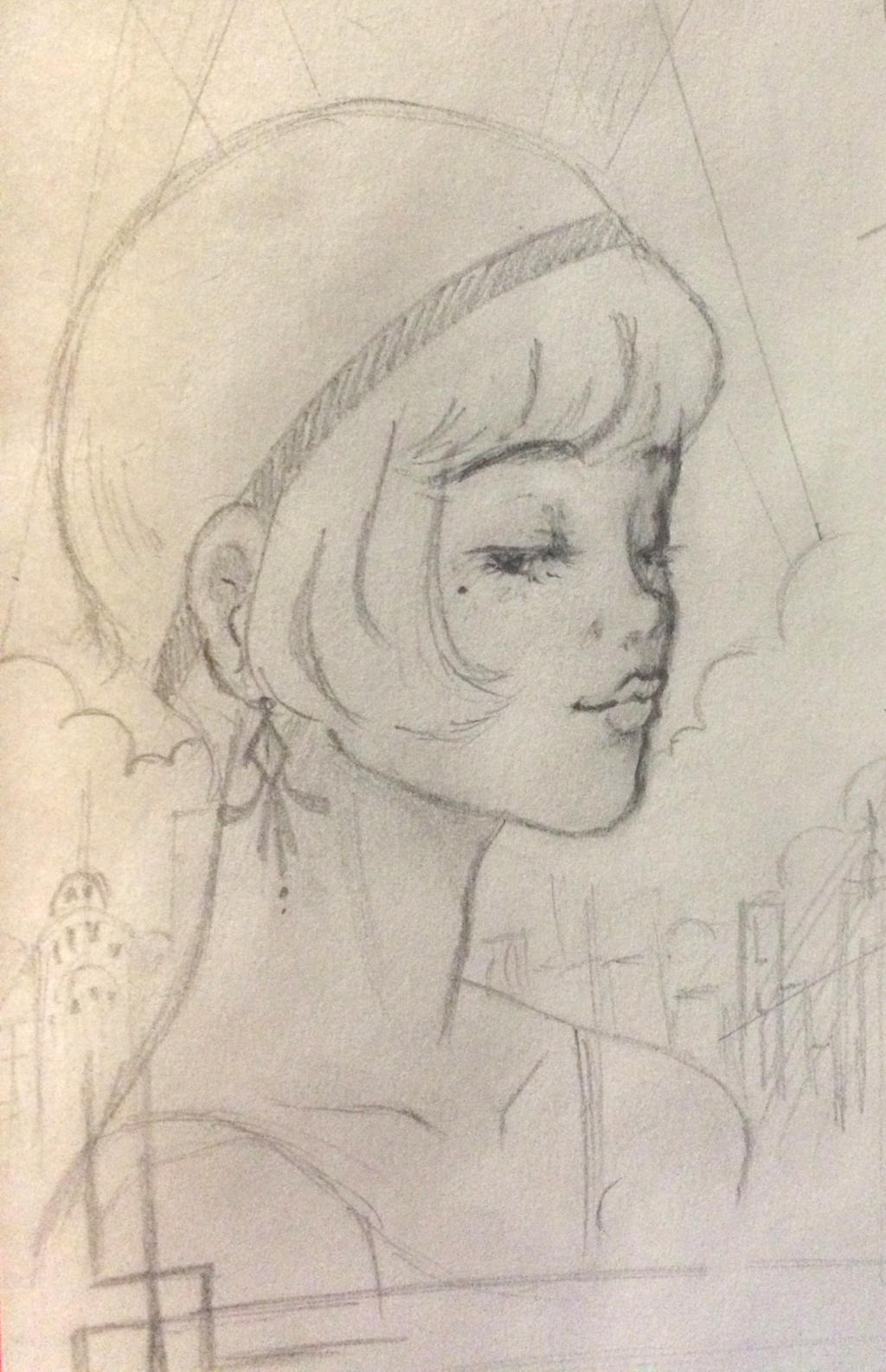 Gatsby Poster Concept Art by Aninsey