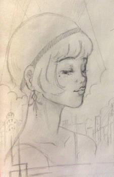 Gatsby Poster Concept Art