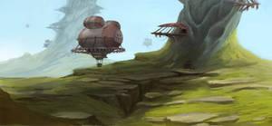 Airship village