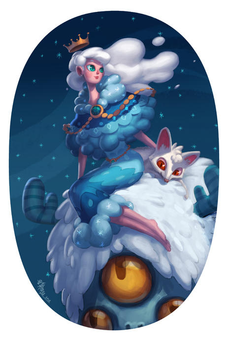 Snow queen and her friends