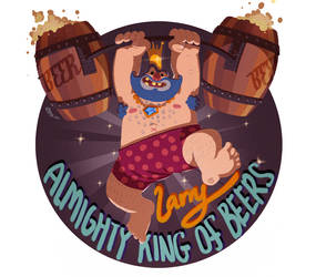 Larry the Almighty King of Beers