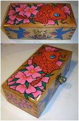 Koi wooden box