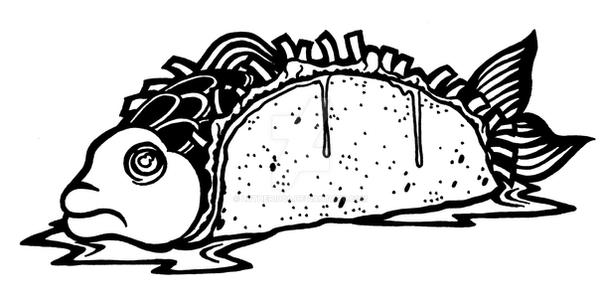 Fish Taco by luther1000