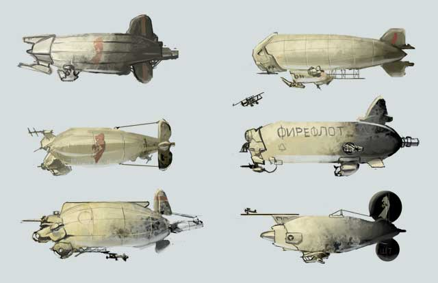 Zeppelin concepts by Hamsta180