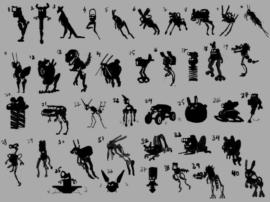Scrappy jumper concepts by Hamsta180