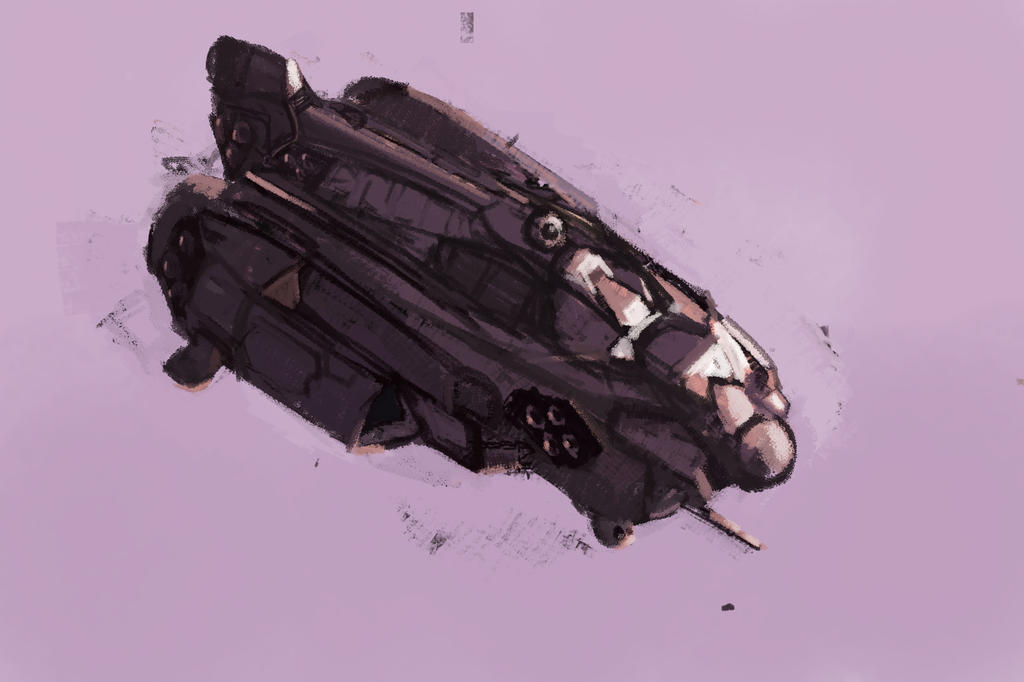 HARDWELL341: Heavy Attack Support Craft by Hamsta180