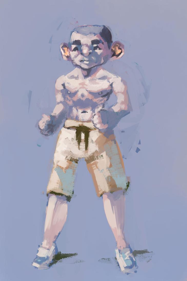 HARDWELL360: Stoic Warrior Monk by Hamsta180