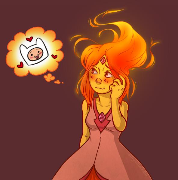 Flame Princess by SillySinz