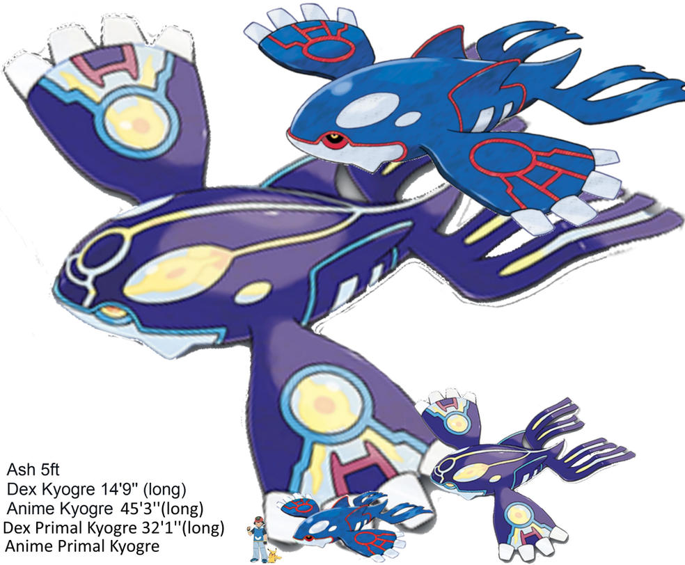 primal kyogre size wwwimgkidcom the image kid has it