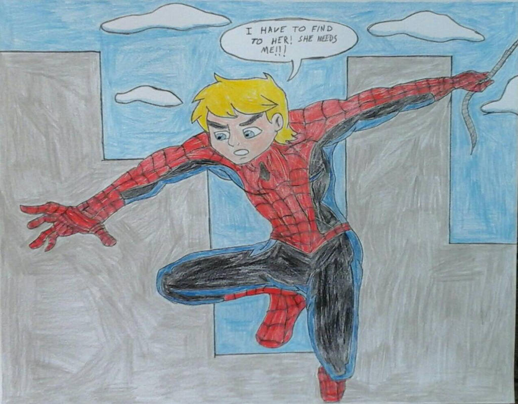 Jonny Quest as Spider-Man by JQroxks21