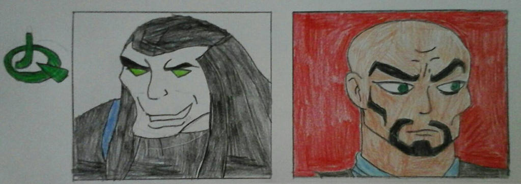 JQ Villains Part 1  by JQroxks21
