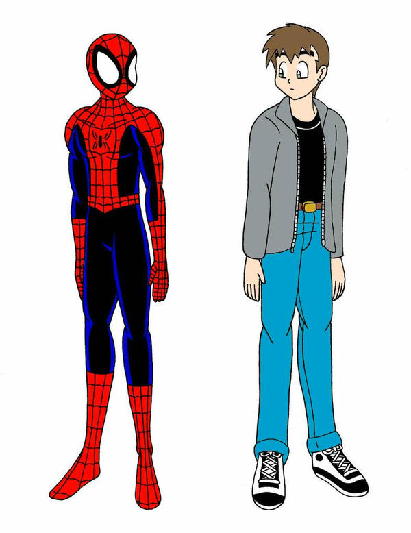 Petey and Spidey Remake by streetgals9000  by JQroxks21