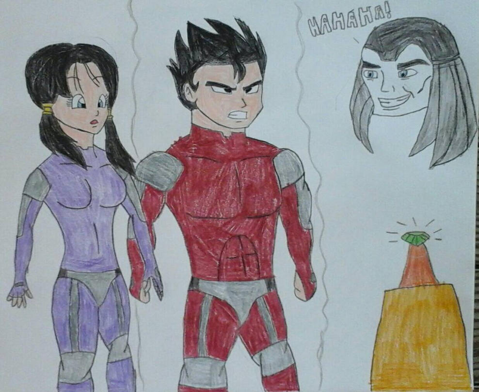 Gohan and Videl in Questworld by JQroxks21