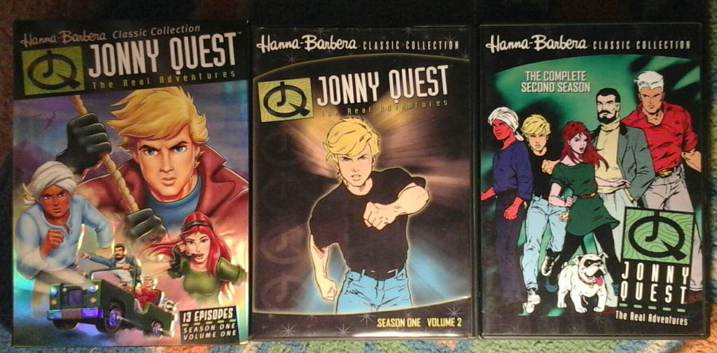 The Real Adventures of Jonny Quest by JQroxks21