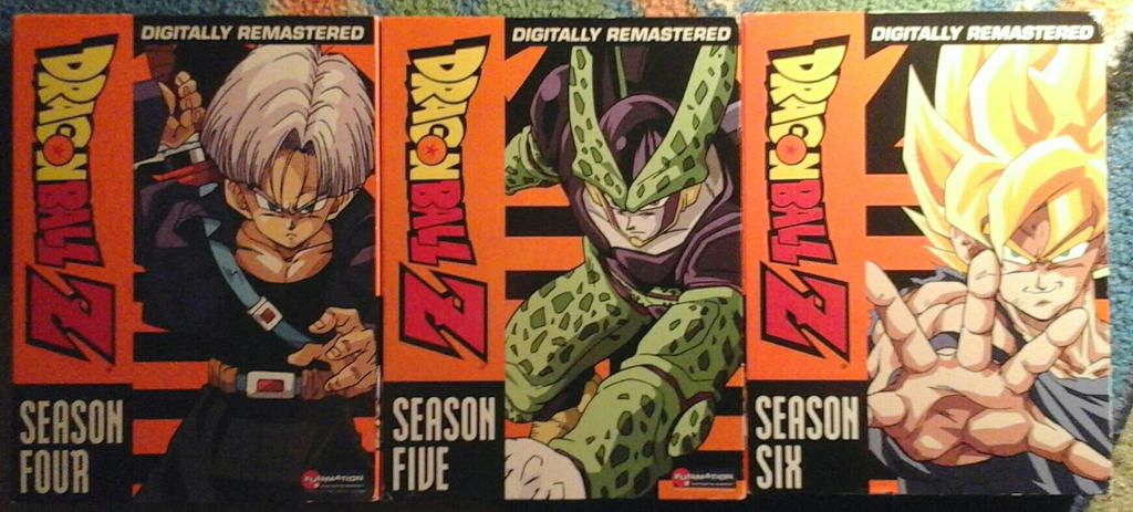 Dragonball Z Seasons 4, 5 and 6 by JQroxks21