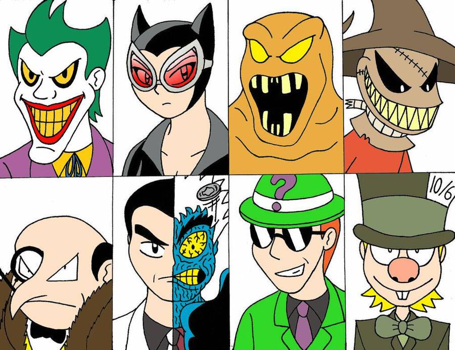 The Bat Villains Part 1 by Streetgals9000 by JQroxks21