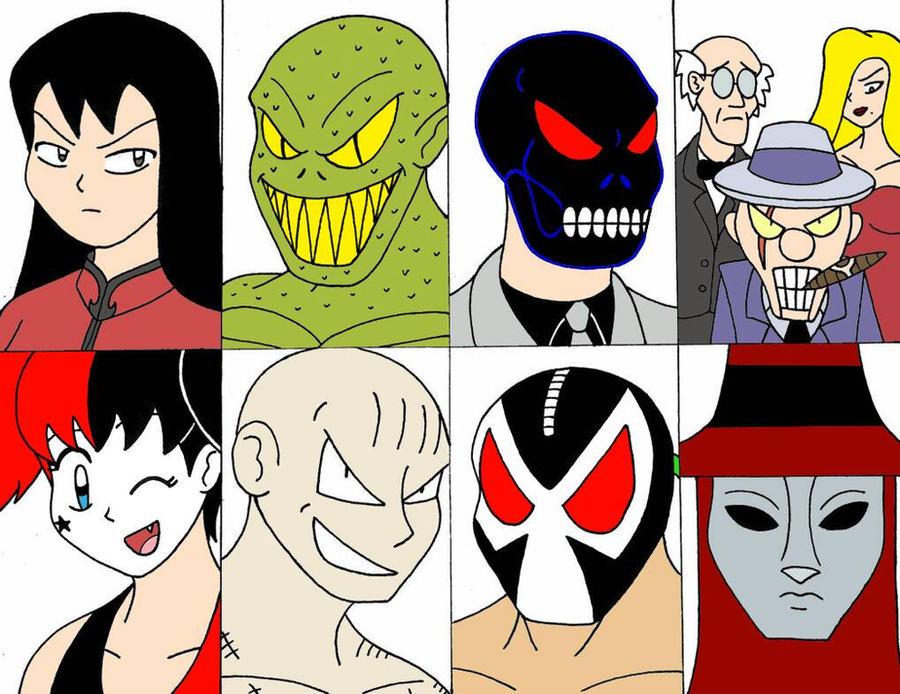 The Bat Villains Part 3 by streetgals9000 by JQroxks21