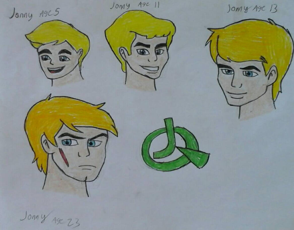 Jonny Quest's Evolution by JQroxks21