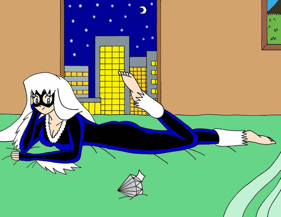 Black Cat In The Bed by Streetgals9000 by JQroxks21