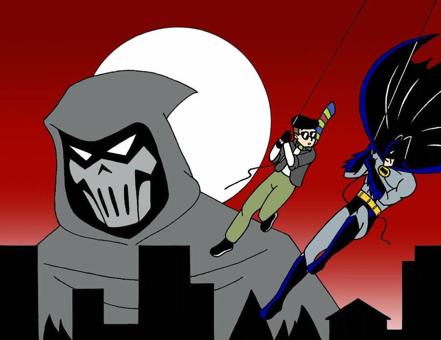HAMR Batman Mask of The Phantasm by streetgals9000 by JQroxks21