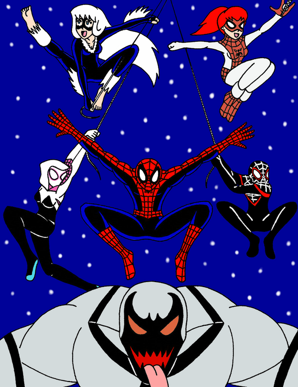 Team Spider by Streetgals9000 by JQroxks21