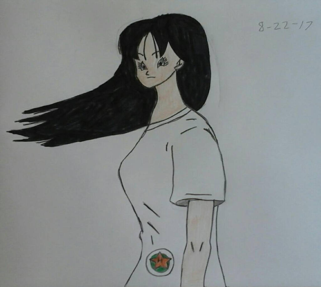 Videl With Long Hair by JQroxks21