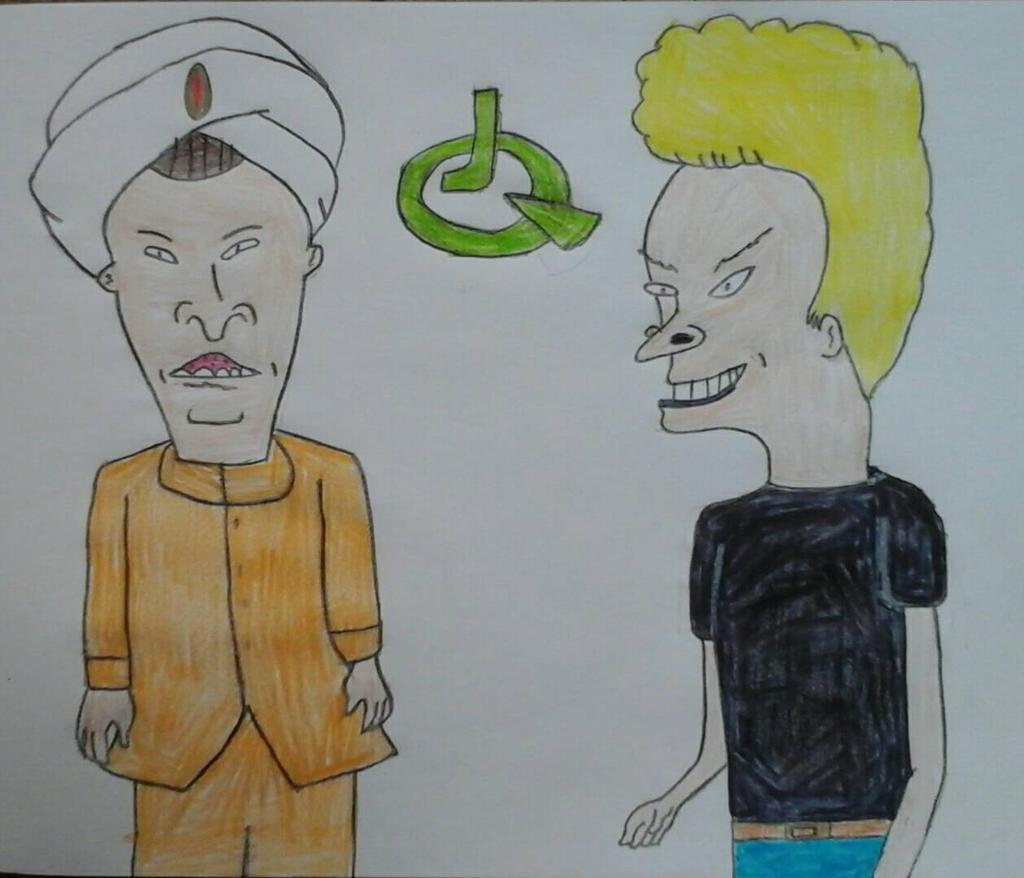 Beavis and Butt-Head as Jonny Quest and Hadji by JQroxks21