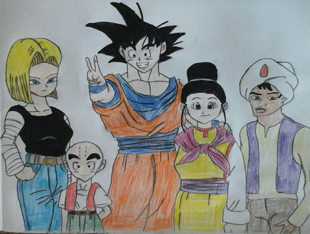 Toonami Characters Part II by JQroxks21