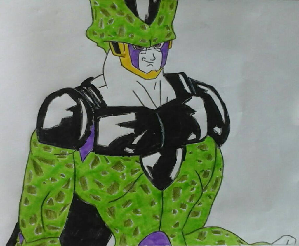 Perfect Cell by JQroxks21