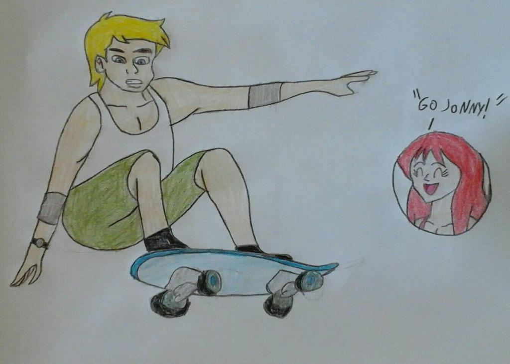 Skateboarding by JQroxks21