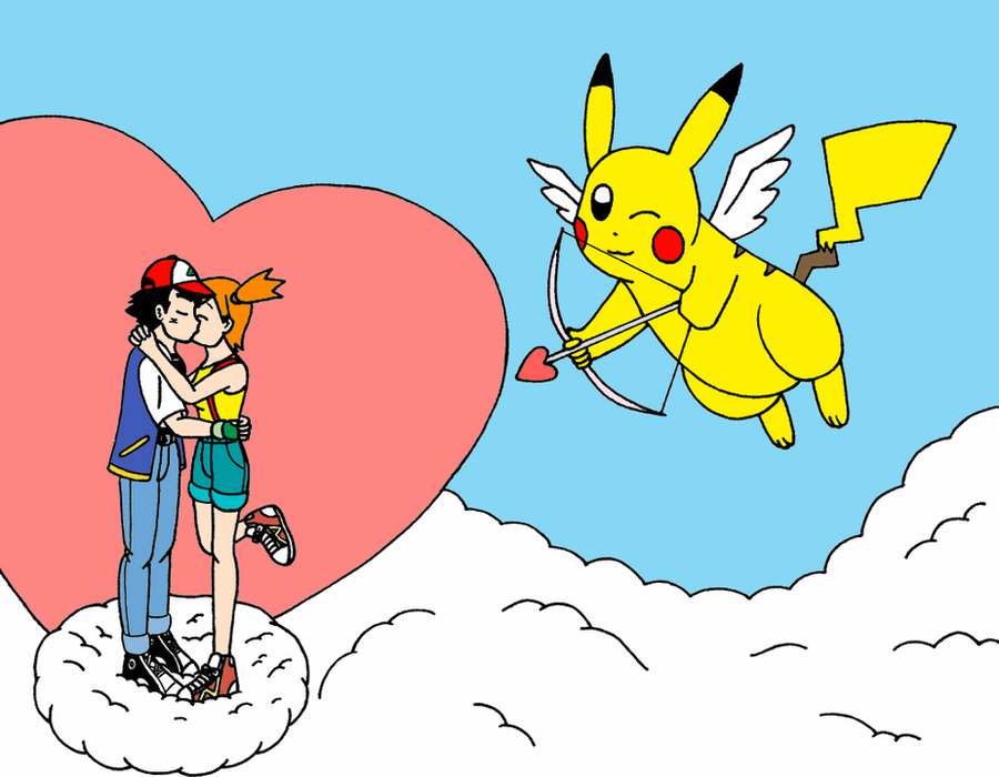 Pikachu And The Cupid by streetgals9000 by JQroxks21