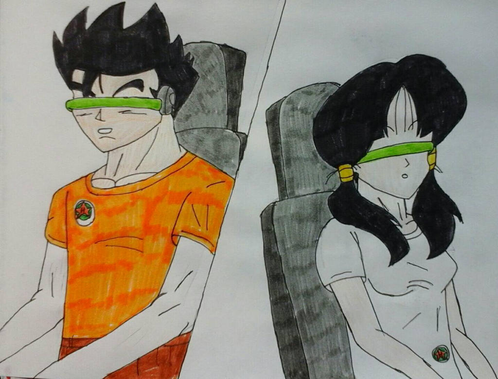 Gohan and Videl Trapped in Questworld by JQroxks21