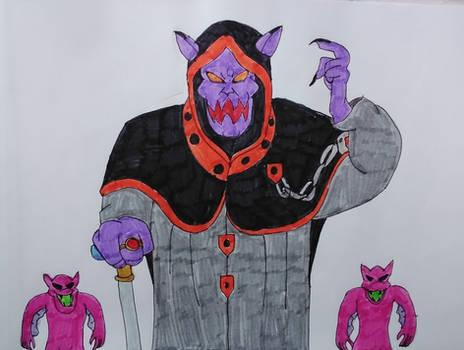 Dark Kat and His Creeplings