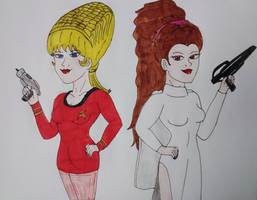 Leia and Janice