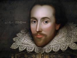 William Shakespeare by RafkinsWarning
