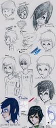 PJatO Sketchdump by PrillaLightfoot