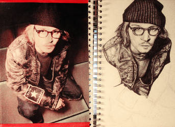 Johnny Depp - Unfinished by ScenicSarah