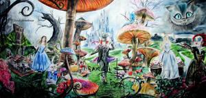 Alice in Wonderland - SIGNED