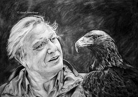 David Attenborough by ScenicSarah