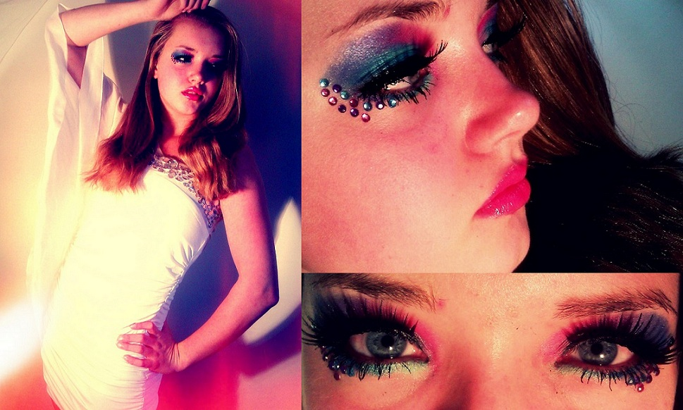 Lisa Purple rain makeup by DreamyEyesDesigns