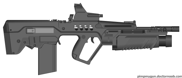 Just a Bull_S41t_gun by AlphaRaptor2k6