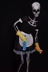 Bonehilda cosplay by LaynesLionRedCat